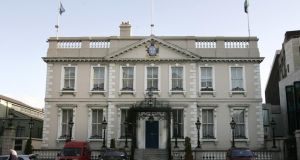 The Mansion House, Dawson Street, Dublin, is the residence of the Lord Mayor of Dublin. Photograph: Dara Mac Dónaill