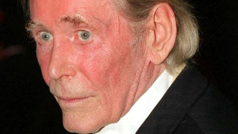 Actor Peter O'Toole, photographed in 1998. Photograph: Michael Walter