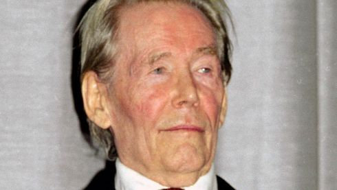 "Eight-time Academy Award nominee Peter O'Toole in 2001 attending the London screening of The Lion in Winter. O'Toole was voted for an Honorary Oscar by the Academy of Motion Picture Arts and Sciences, but he sent a handwritten open letter to AMPAS stating he was ""enchanted"" by the gesture, but said that since he is ""still in the game and might win the lovely bugger outright, would the Academy please defer the honor until I am 80?"" Photograph: Reuters"