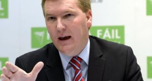 Fianna Fáil finance spokesman Michael McGrath said Enda Kenny touched on new initiatives but 'not in any detail'. Photograph: Brenda Fitzsimons/The Irish Times
