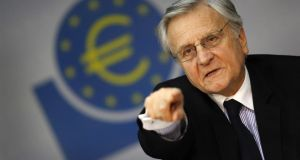 Jean-Claude Trichet: threatened that the bomb would go off. Photograph: Reuters