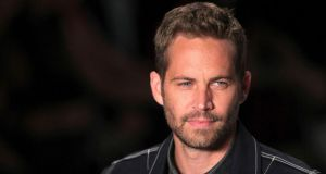 US actor Paul Walker. The Fast and Furious star died in car crash in Los Angeles earlier this month. Photograph: Filipe Carvalho/Reuters