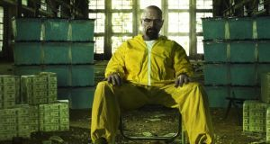 Bryan Cranston plays New Mexico crystal meth dealer Walter White in Breaking Bad.