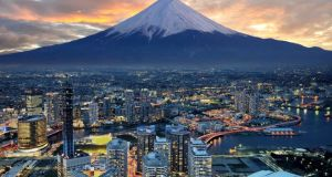 "Yokohama and Mount Fuji: ""Given its demography, Japan would do well to attain growth of 1-1.5 per cent a year. The country will be unable to combine economic dynamism with fiscal consolidation without a rise in consumption's share in GDP."" Photograph: Getty Images"