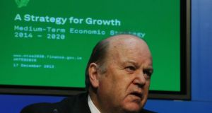 "Minister for Finance Michael Noonan:  rejected claims the plan was short on detail. The framework comprised ""50 pages of detail,"" he said. ""It's not one of these PR marketing economic policies that we got used to in the past."""