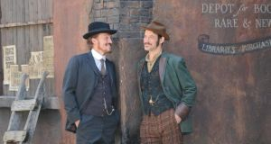 Ripper Street, shot in Dublin and starring Jerome Flynn and Adam Rothenberg, was one of the biggest revenue generators for the Irish film industry in 2013.   Photograph: Alan Betson/The Irish Times