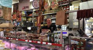 David Grecco of Mike's Deli, Arthur Avenue