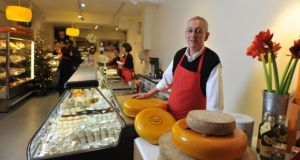 Sean Calder-Potts in the new Iago food shop in Cork