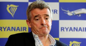 Michael O'Leary's admission that Ryanair had been 'abrupt' with customers. Photograph: Dave Meehan