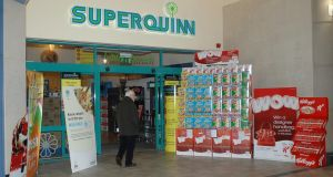 Supervalu announced plans to rebrand Superquinn stores under its own name. Photograph: Arthur Kinahan