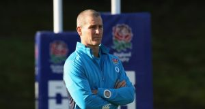 England head coach Stuart Lancaster: has been alarmed at the stance of the English clubs and their representative body, Premiership Rugby.  Photo: David Rogers/Getty Images