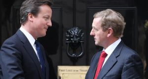 David Cameron and Enda Kenny will jointly attend the event. Photograph: Peter Macdiarmid/Getty Images