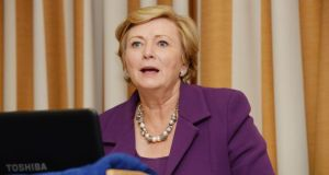 "Frances Fitzgerald: ""I am very struck by what the Crisis Pregnancy Agency said."" Photograph: Alan Betson"