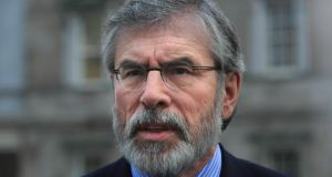 Political culture, political cult: republicans are true to Gerry Adams. Photograph:  Gareth Chaney Collins