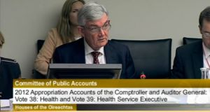 Department of Health secretary general Ambrose McLoughlin has told the Public Accounts Committee that the department will be insisting on the introduction of a system of regular independent governance audits.