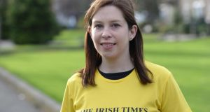 Running coach Mary Jennings. Photograph: Dara Mac Dónaill