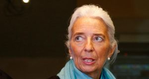 International Monetary Fund (IMF) managing director Christine Lagarde said services and training for jobseekers need to be improved. Photo: Reuters