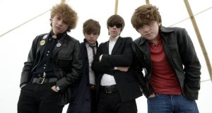 Stars and Strypes: the Strypes are US-bound in 2014. Photograph: Brenda Fitzsimons