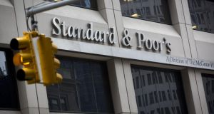 Standard & Poor's has cut its long-term credit rating on the European Union. Photo: Bloomberg