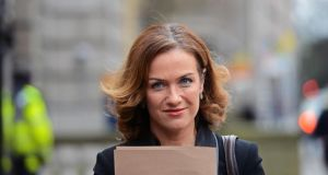 Dr Rhona Mahony, master of the National Maternity Hospital,  has insisted a payment she received related to fees for seeing private patients. Photograph: Eric Luke/The Irish Times