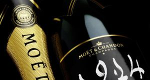 The Moët & Chandon Grand Vintage Collection 1914 was the star lot in an auction of finest and rarest wines, selling for £24,910