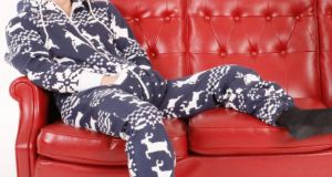 With the new year on its way, the onesie is a no-no, definitely something to be ditched along with the empties and the turkey carcass