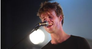 Steve Garrigan of  Kodaline.  Photograph: Bryan O'Brien