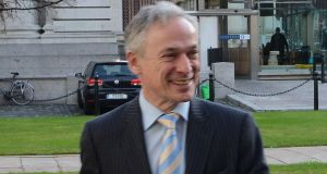 Minister Jobs, Enterprise and Innovation Richard Bruton received Cabinet approval last Tuesday for the move to dissolve Forfás. Photograph: Cyril Byrne
