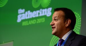 "Minister for Tourism Leo Varadkar has said the project has been a ""fantastic experience and success"" that had helped re-establish Ireland's reputation globally as a premier holiday destination. Photograph: Frank Miller"
