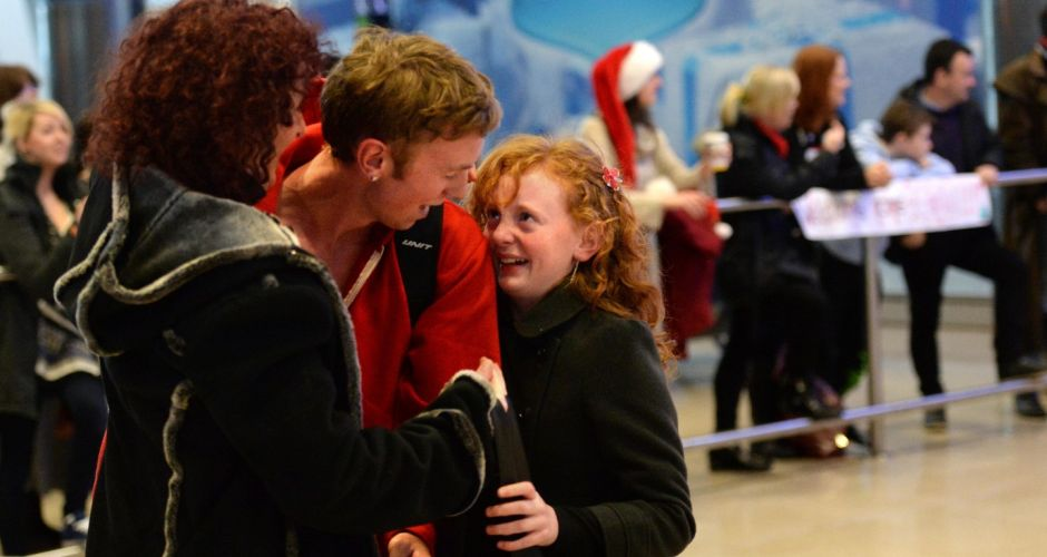 Emigrants welcomed home for Christmas