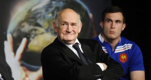 The president of the French Rugby Federation Pierre Camou stormed out of meeting.