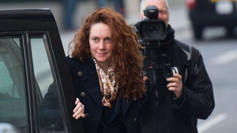 Former News International chief executive Rebekah Brooks arrives for her phone-hacking trial at the Old Bailey. Photograph: Bethany Clarke/Getty Images