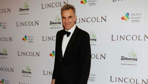 Daniel Day Lewis, pictured in Dublin in January at the European premiere of 0scar-nominated movie Lincoln. Photograph: Robbie Reynolds/CPR