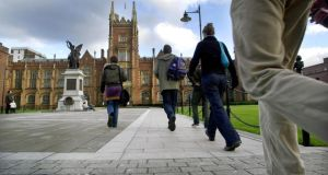 Sir Peter Froggat of Queen's University Belfast said there was a considerable exodus to other British universities, especially on the part of the Protestant community