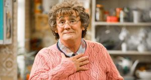 Brendan O'Carroll as Agnes Brown. The most watched show on Christmas Day in the UK.