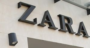Zara: a long queue of bargain-hunters formed ahead of its 9am opening yesterday. Photograph:  Sean Gallup/Getty Images