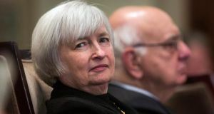 Federal Reserve vice-chairwoman Janet Yellen. Photograph: EPA/Jim Lo Scalzo