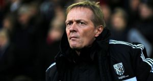 West Bromwich Albion caretaker manager  Keith Downing.