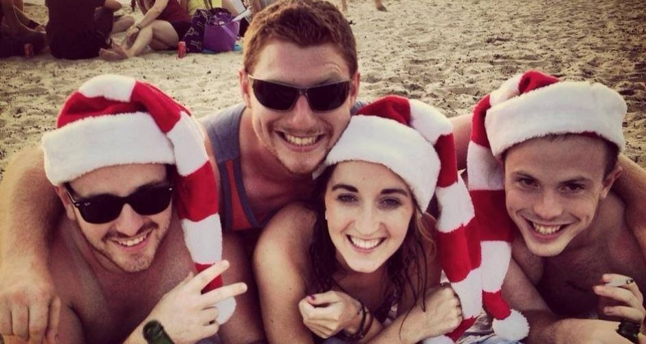 How they're spending Christmas abroad