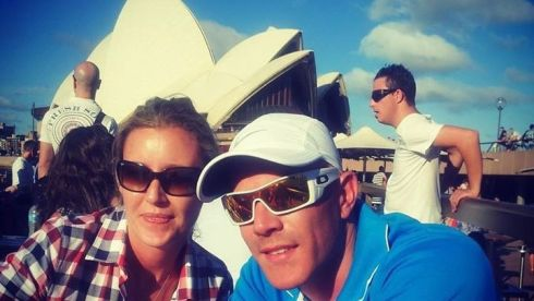 Derek Dolan and Rachel Sandford - can you guess where they are?