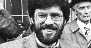 "Gerry Adams: Sinn Féin leader had distributed a questionnaire to IRA prisoners asking for ""details of ill treatment"". Photograph: Pat Langan"
