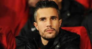 Manchester United's Robin Van Persie: footballers enjoy a special pension scheme under which they are allowed to save up to €5,000 tax-free per month. Photograph: Reuters