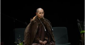 Thich Nhat Hanh: Mindfulness can turn an open wound into a healing wound. Photograph: Brenda Fitzsimons/The Irish Times