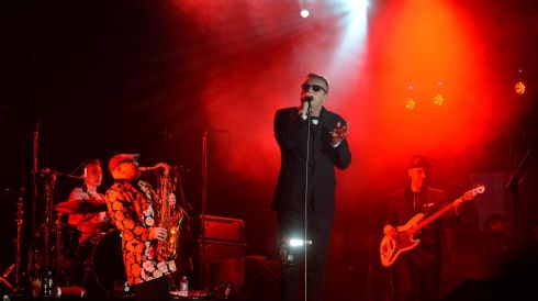 Madness performing in Dublin to ring in the New Year.  Photograph: Dara MacDónaill/The Irish Times
