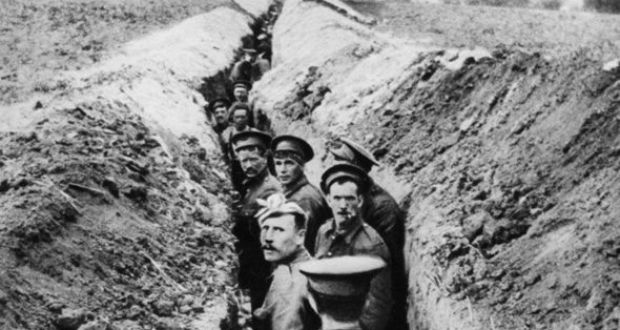 British soldiers in the trenches during the first world war file photograph getty images