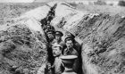 British soldiers in the trenches during the first World War. File Photograph: Getty Images