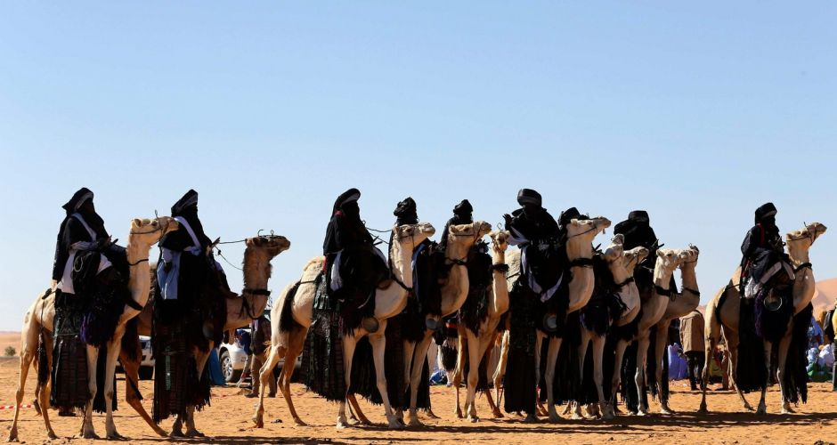 Tuareg festival in the Libyan desert