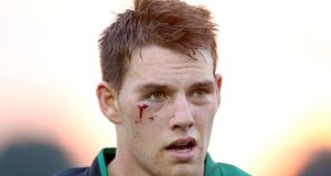 Jake Heenan: battling a shoulder injury prior to the clash with Leinster at the Sportsground. Photo: Dan Sheridan/Inpho
