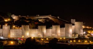 The city wall at Ávila
