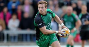Jack Carty will make his first start for Connacht tomorrow night.